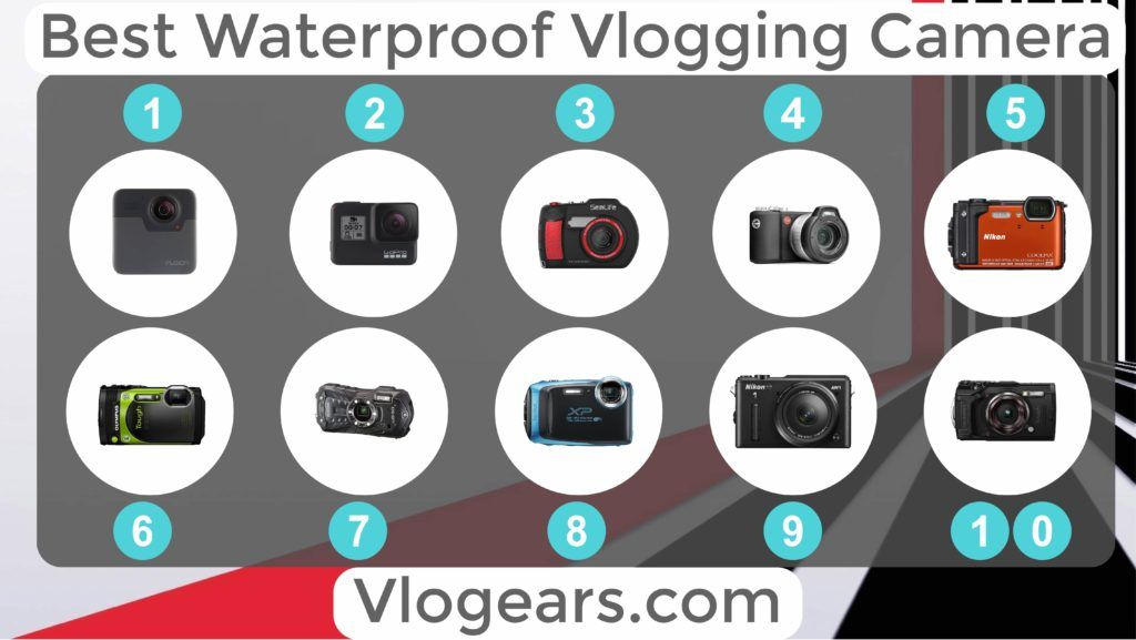Best Waterproof camera for vlogging by vlogears.com
