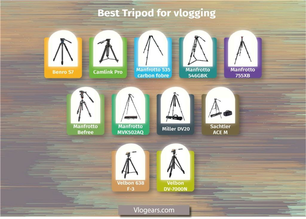 best video tripod for youtube and vlogging